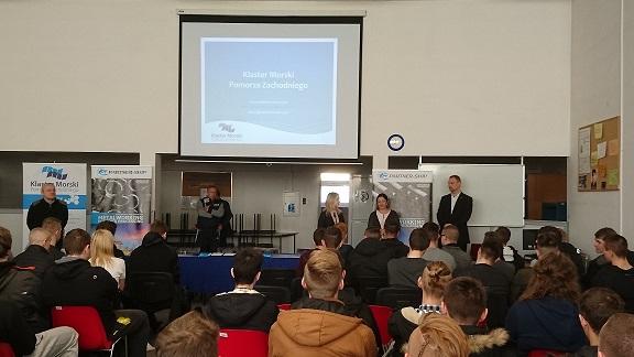 Spotkanie z uczniami z Zachodniopomorskiego Centrum Edukacji Morskiej i Politechnicznej