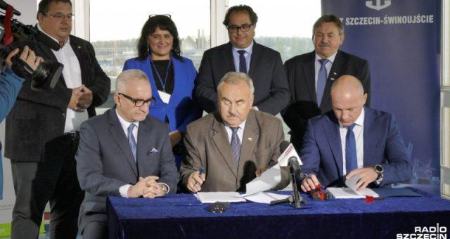 Umowa z wykonawcą na realizację Terminala Promowego w Świnoujściu PODPISANA