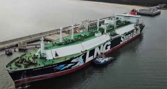 125 dostawa do Terminalu LNG w Świnoujściu
