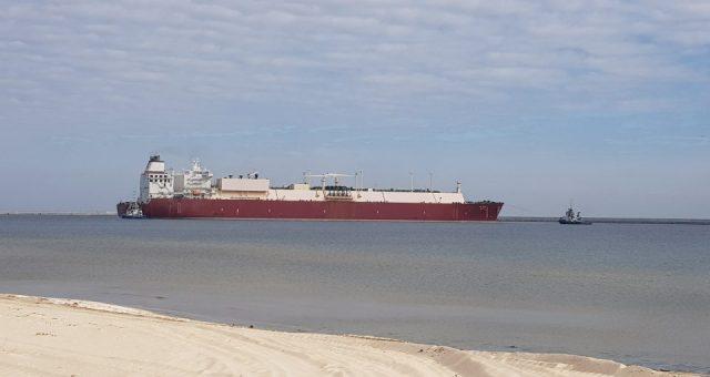 127 dostawa gazu do Terminalu LNG w Świnoujściu