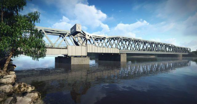 Nowy most kolejowy na Regalicy coraz bliżej