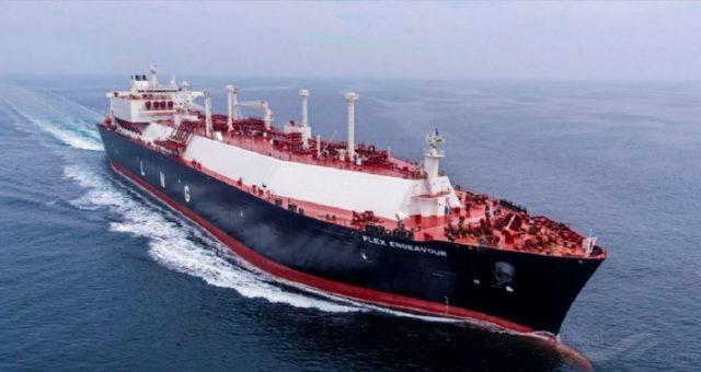 128 dostawa gazu do Terminalu LNG w Świnoujściu